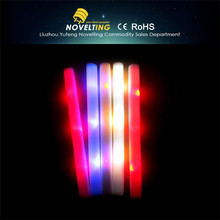Top quality Wholesale led foam flashing light led cotton candy stick