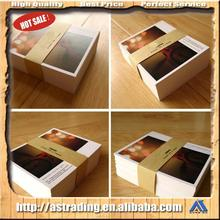 New brand custom greeting card with low MOQ