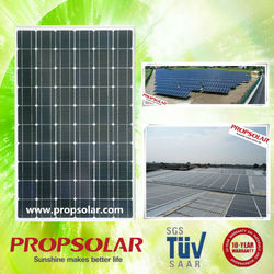 Propsolar TUV, ISO, CE certificated best price polycrystalline solar panel 12v 300w