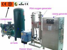 ozonated water treament ozone generator plant for drinking plant and sterilization / costruttori macchine ozono in cina