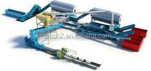 Msw reciclaje Solution / Material de recuperación animalario ( MRF ) / hogar de residuos de basura clasificación + energía de procesamiento