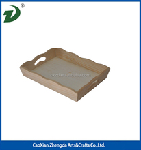 Simple Design Wooden Cup Tray