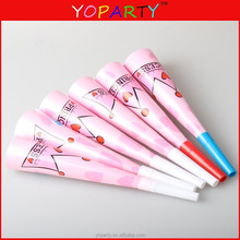 Popular party paper horn for girls princess party favors