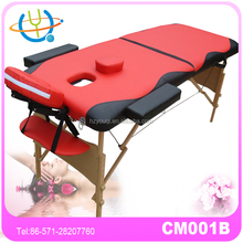 Lightweight wood legs used massag tabl for sale