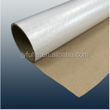 Silver Grease Proof Heat Insulate Aluminum Foil Laminated Paper for Wrpping / Packaging