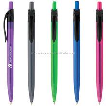 Blue color office uni ballpoint pen wholesale