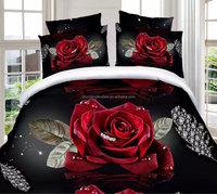 100% polyester 3d printed bedding set duvet cover set