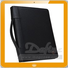 high quality PU leather portfolio professional supplier