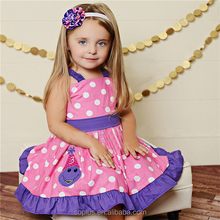 SFK1508116 2015 New Summer Style Girls Sex Party Dress Fashion Knee-Length Beach Dresses For Girls Sleeveless Children Sundress