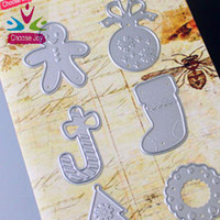 2015 hotsale YIWU stencil cutting paper die new high quality Christmas embossing decoration sets cutting die for Paper scrapbook