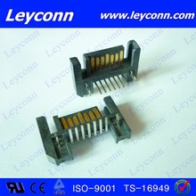7 Pins Right Angle Solder Frontal Type SATA Connector