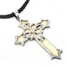 Wholesale hot Christmas gift metal necklace/ fashion necklace/custom cross