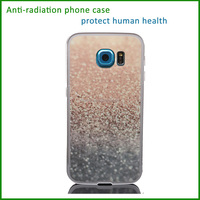 anti-radiation blank sublimation printing light up cell phone case