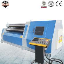 Hoston W12 multi função hidráulica cone máquina de rolamento / pequeno usado máquina de rolamento da placa