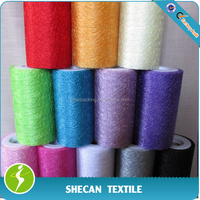 spider web fabric Flower wrapping material