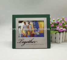 Wholesale wooden photo with nice frame sweet family gifts designs