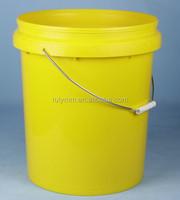 20 liter plastic paint bucket with spout