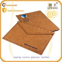 LeatherLaptop Sleeve, Envelope genuine Leather 13-13.3 Inch Laptop bag case