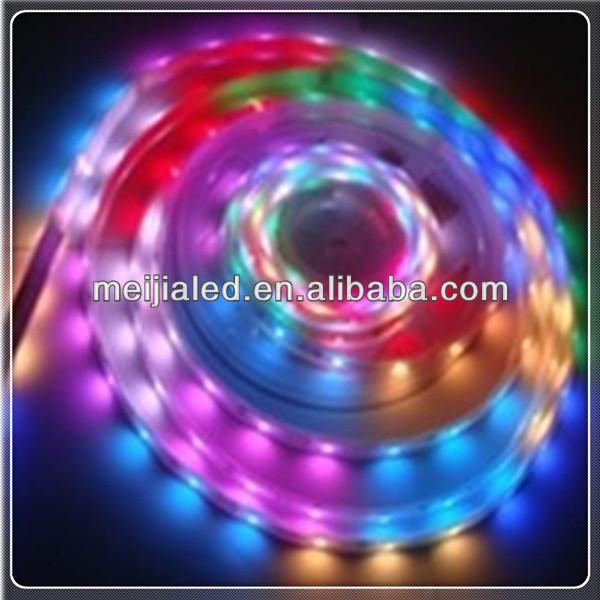 christmas lit string light programmable led strip light rgb 5050. Black Bedroom Furniture Sets. Home Design Ideas