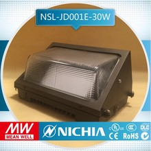 sample free of charge 2700k pure white led tunnel light ip65 outdoor led photocell sensor outdoor wall lighting dlc approval