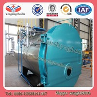 Horizontal fire tube automatically 8 tph natural gas steam boilers