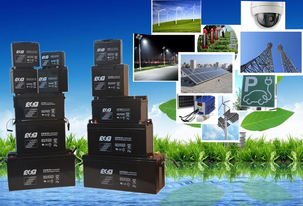 12v0.8AH batterie à décharge profonde selead batterie au plomb