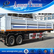 factory supply lpg gas transport truck / compressed natural gas transport semi trailer for sale