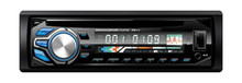 1Din Removable Face Car Stereo with DVD CD USB Small SD Front AUX BT RDS FM AM