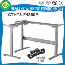 Top quality electric control height adjustable PC desk frame