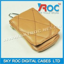 2012 new PU leather mobile phone leather bag pouch