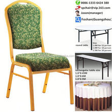 promotion hotel stacking stainless steel banquet chair