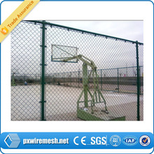 Chain Link Mesh Type and Low-Carbon Iron Wire Material chain link fence
