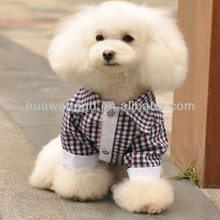 Wholesale dog plaid shirt clothes, pet dog product, dogs accessories in China