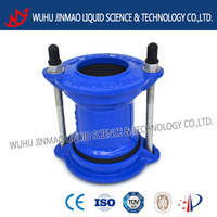 coupling ductile iron pipe fitting