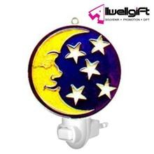round shape moon and star night light/baby night light