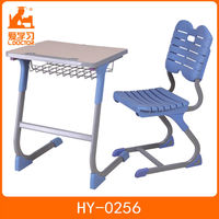 2015 modern school desk and chair