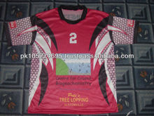 Sublimated T shirt made of 100% Polyester dry fit