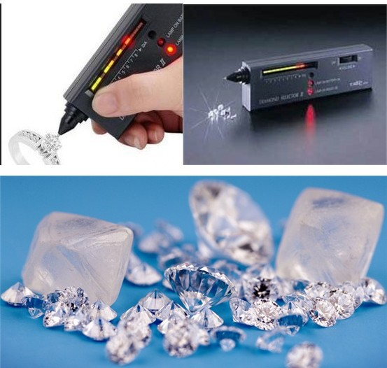 JEM-II Diamond Tester With Ultraviolet Light