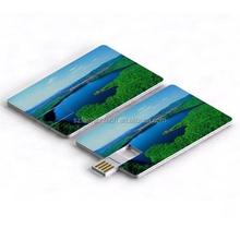 Ultra thin business Card USB flash drive