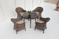 Wicker Dining Set/Man-made Fibre Leisure Furniture/outdoor Furnitur (BP-3017)