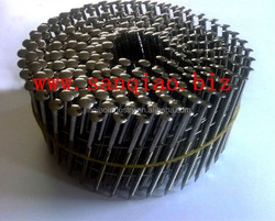 Stainless steel coil nails ss316