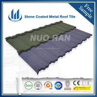 Africa market high quality colored Corrugated metal roof tile /Nigeria SONCAP for stone coated steel roofing sheer