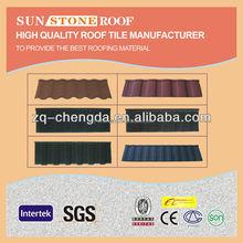 hot sale used stone metal steel roofing tile