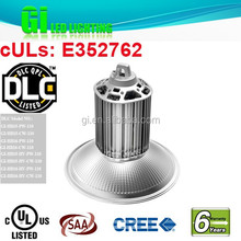 UL DLC listed 200w led high bay light shenzhen available in US warehouse with 6 years warranty