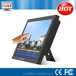 19 inch touch screen all in one pc computer display advertising