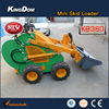 New 380kg customized mini skid loader, compact utility garden worker with CE EPA