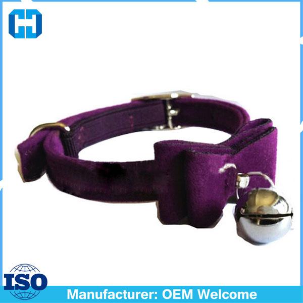 Safety-Elastic-Bowtie-Bell-Cat-Kitten-Collar-Velvet-Bow-Tie-Little-Pet-Neck-Chain-For-Cats (5)