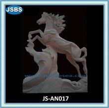 Hand Carved Stone Horse Statue 2012
