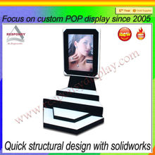 flexible transparent acrylic lcd display advertising lcd display