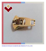 Zíper de Metal deslizante #4 de bronze para o saco jaqueta reparação de roupa